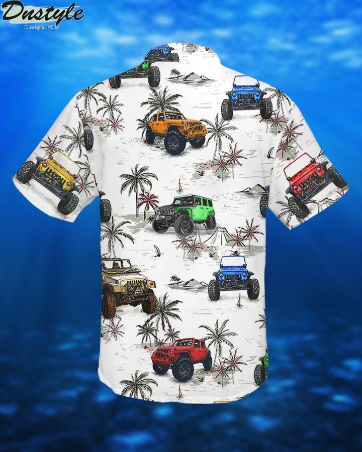Jeeps and beach hawaiian shirt 1