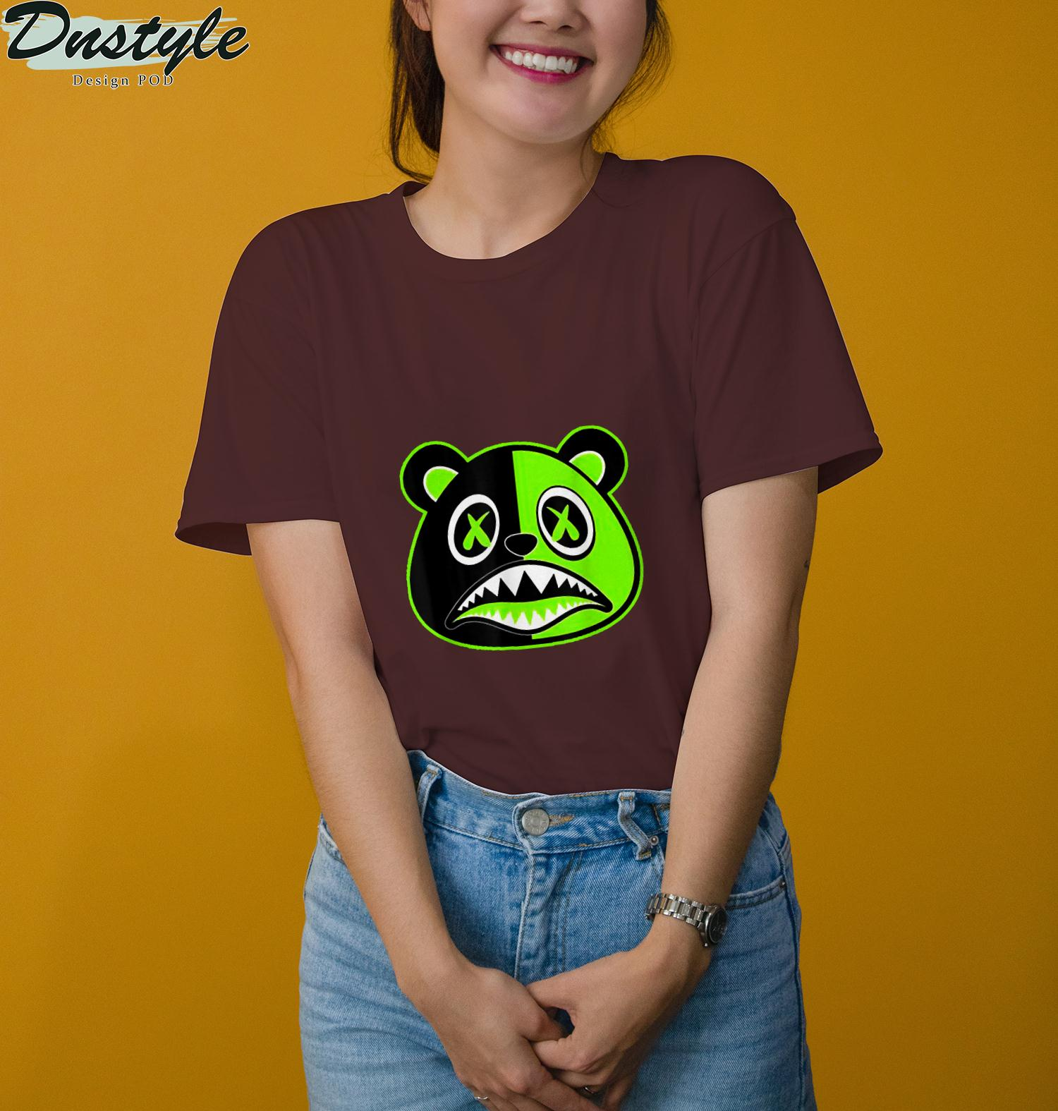 Jor dan Retro 6 Electric Green T-Shirt 3