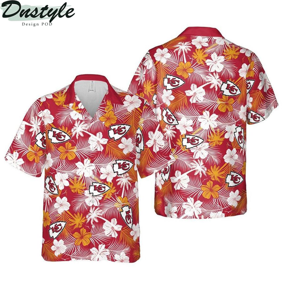Kansas city chiefs missouri nfl football hawaiian shirt 2