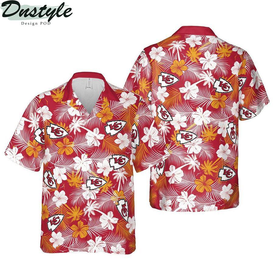 Kansas city chiefs missouri nfl football hawaiian shirt
