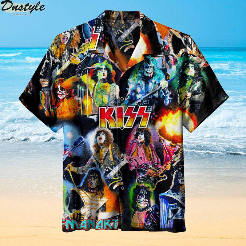 Kiss Band Hawaiian Shirt