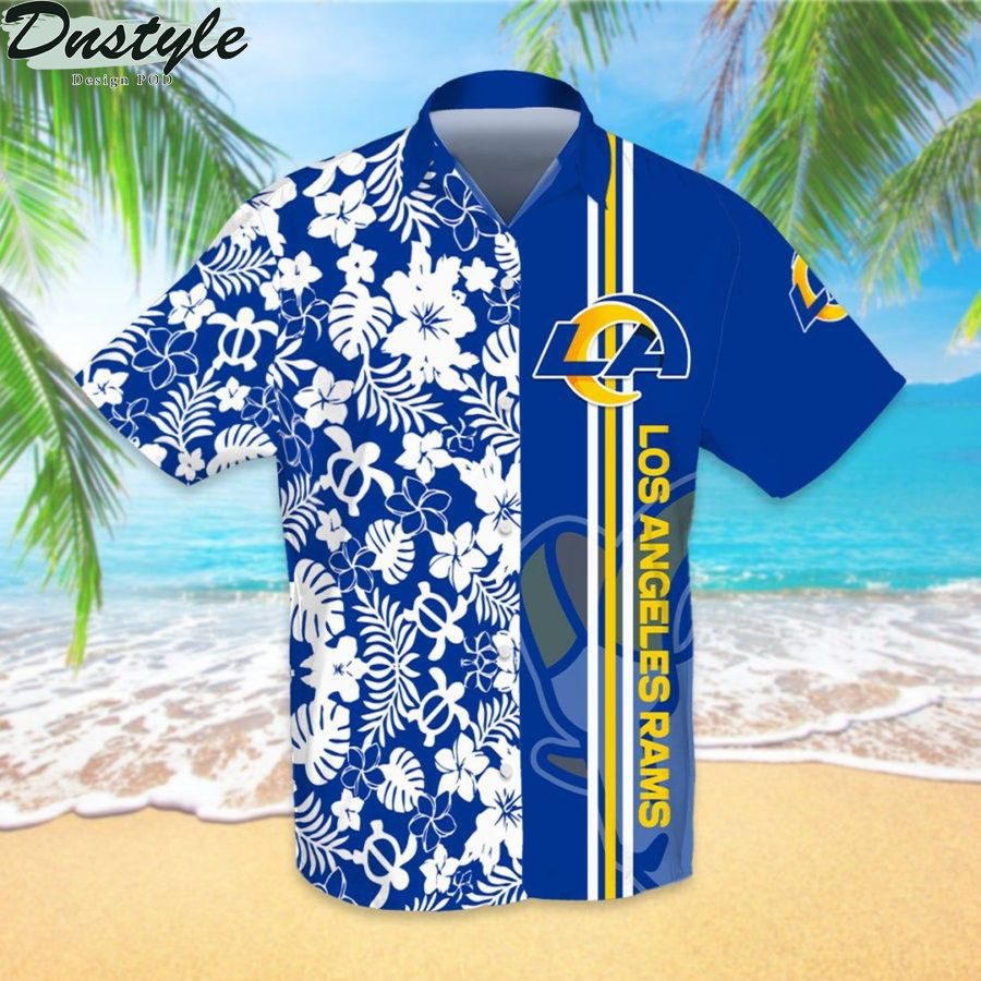 Los angeles rams nfl football hawaiian shirt