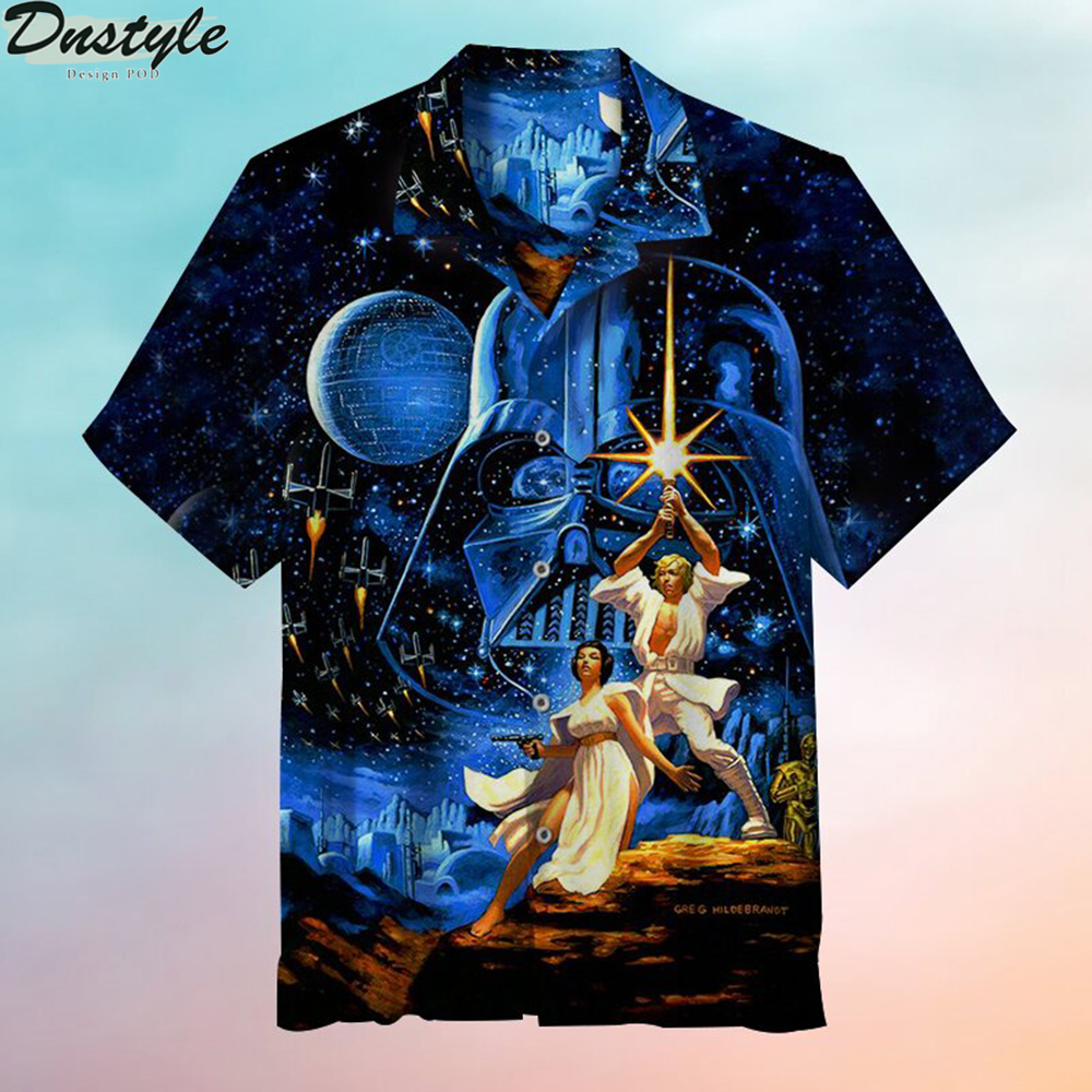 May the Force be with you Hawaiian shirt 1