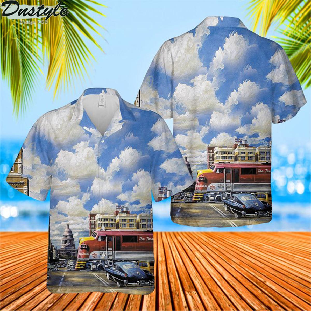 Missouri kansas texas railroad hawaiian shirt 2