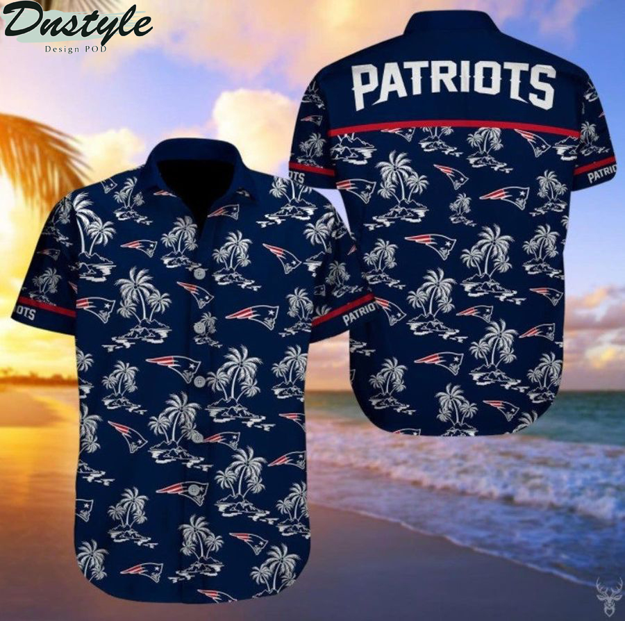 New england patriots nfl football hawaiian shirt