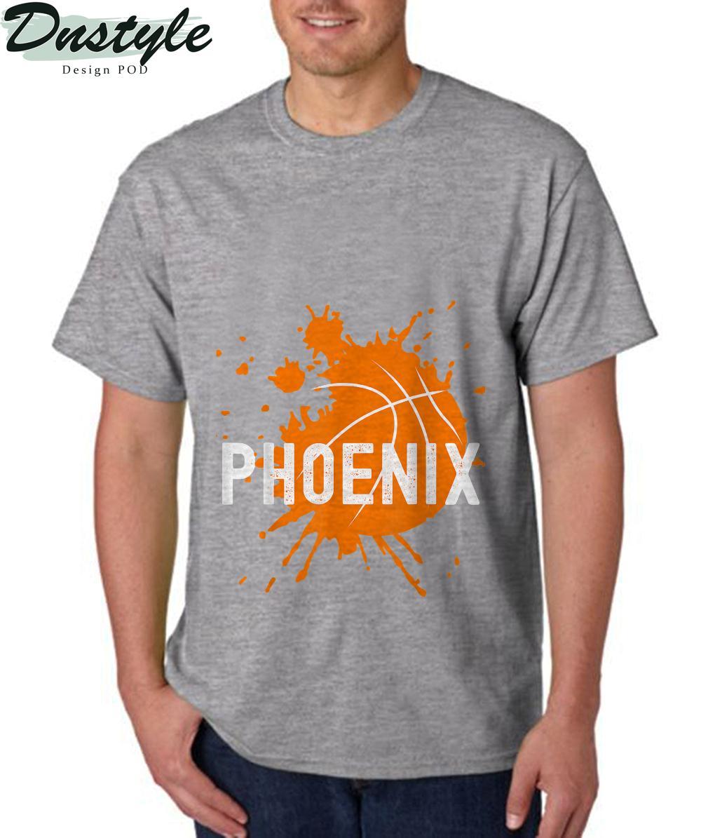Phoenix Basketball B-Ball Valley PHX City Arizona State T-Shirt 1