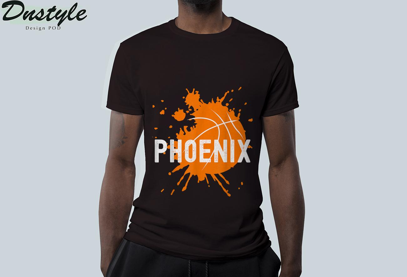 Phoenix Basketball B-Ball Valley PHX City Arizona State T-Shirt 2