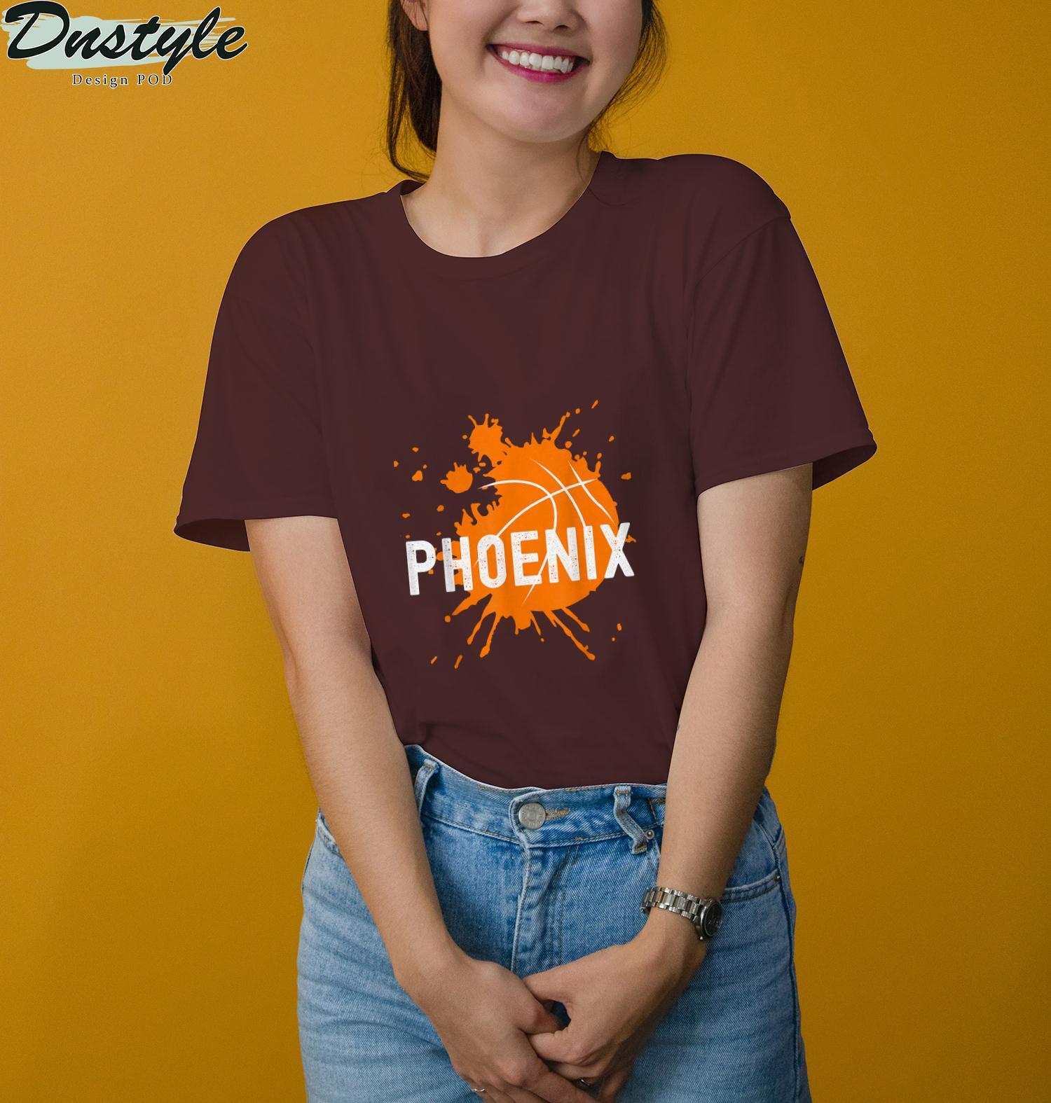 Phoenix Basketball B-Ball Valley PHX City Arizona State T-Shirt 3
