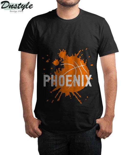 Phoenix Basketball B-Ball Valley PHX City Arizona State T-Shirt