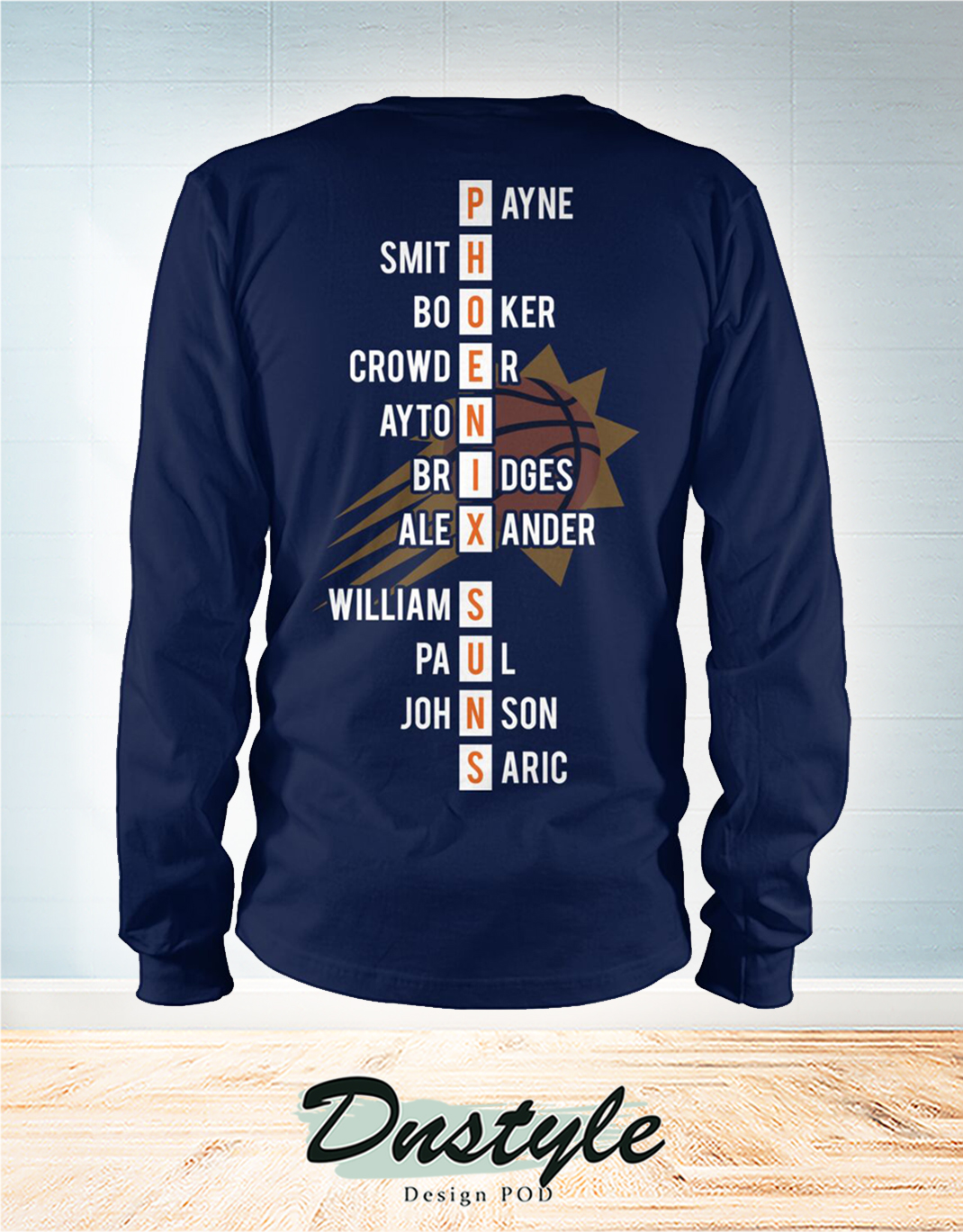 Phoenix Suns 2021 western conference champions long sleeve 1