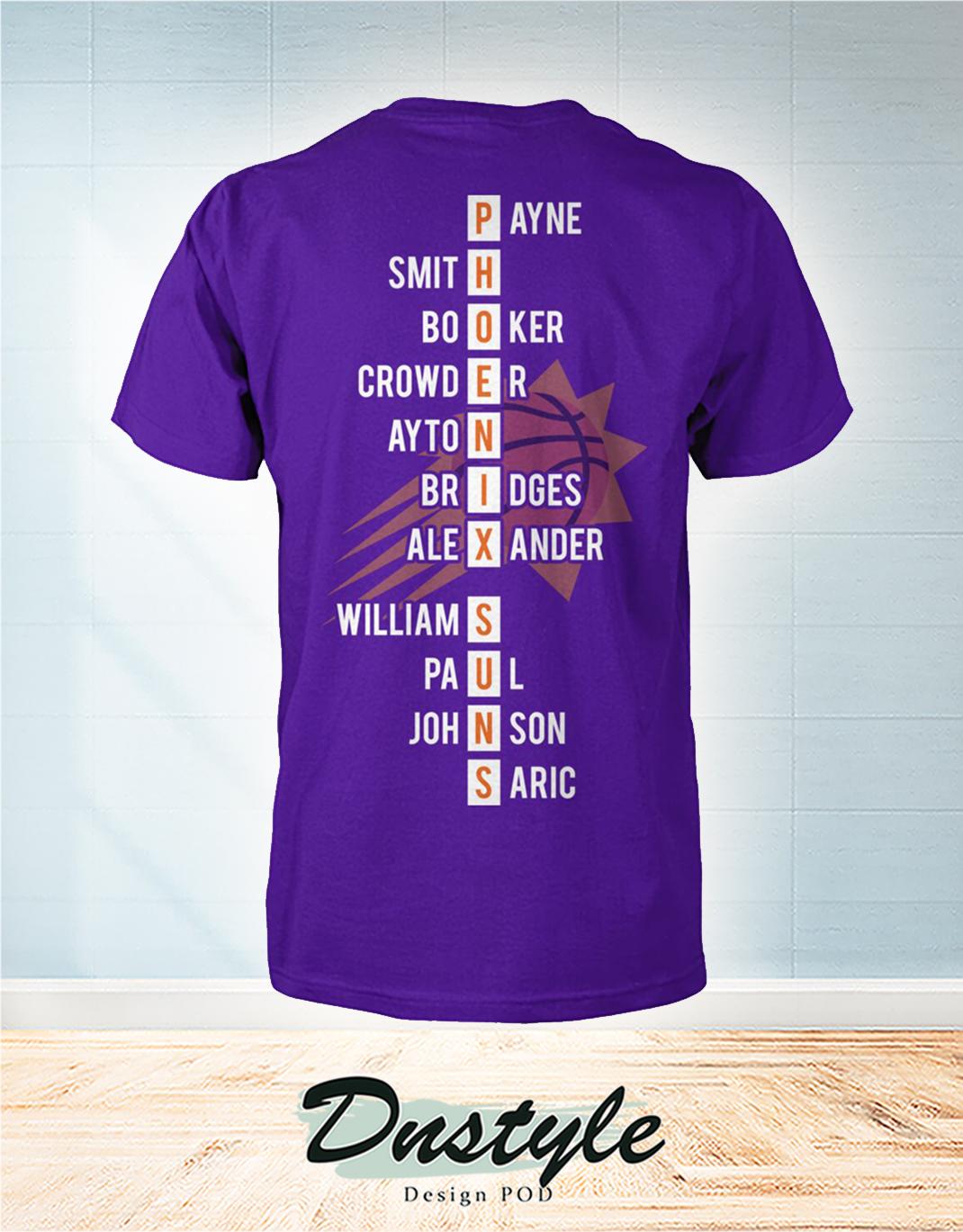 Phoenix Suns 2021 western conference champions t-shirt 1