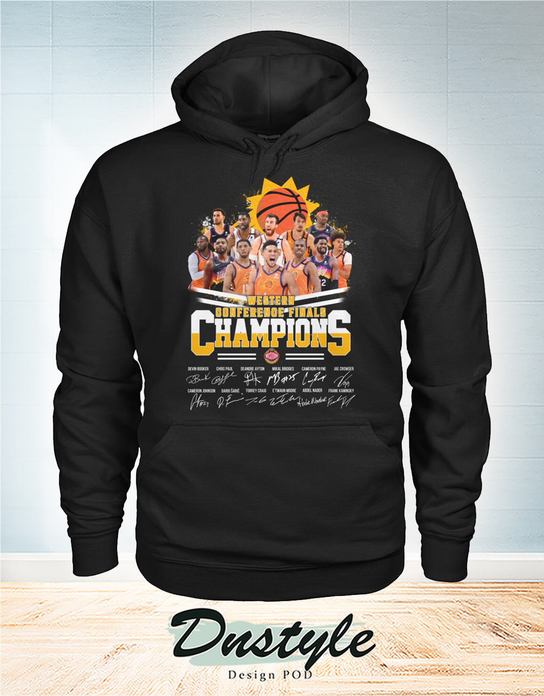 Phoenix Suns western conference finals champions signature hoodie