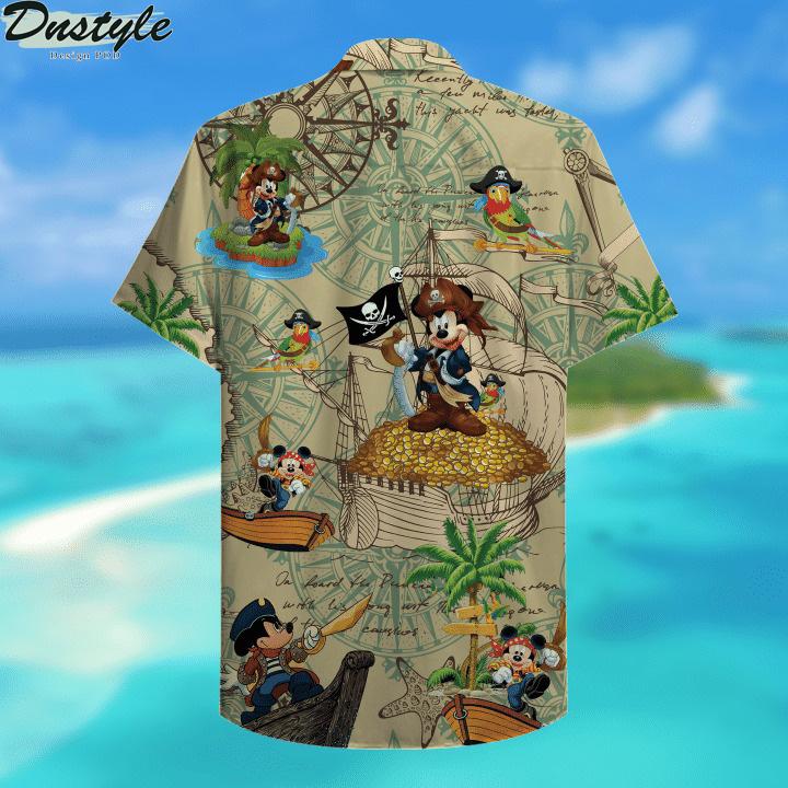 Pirate Mickey Unisex Hawaiian Shirt 2