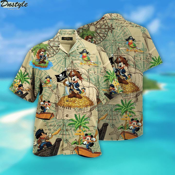 Pirate Mickey Unisex Hawaiian Shirt