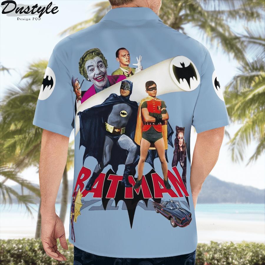 Robin batman catwoman tv series hawaiian shirt 3