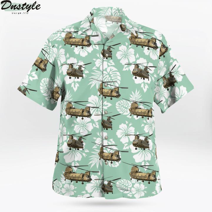 Royal Air Force Boeing Chinook Hawaiian Shirt 1