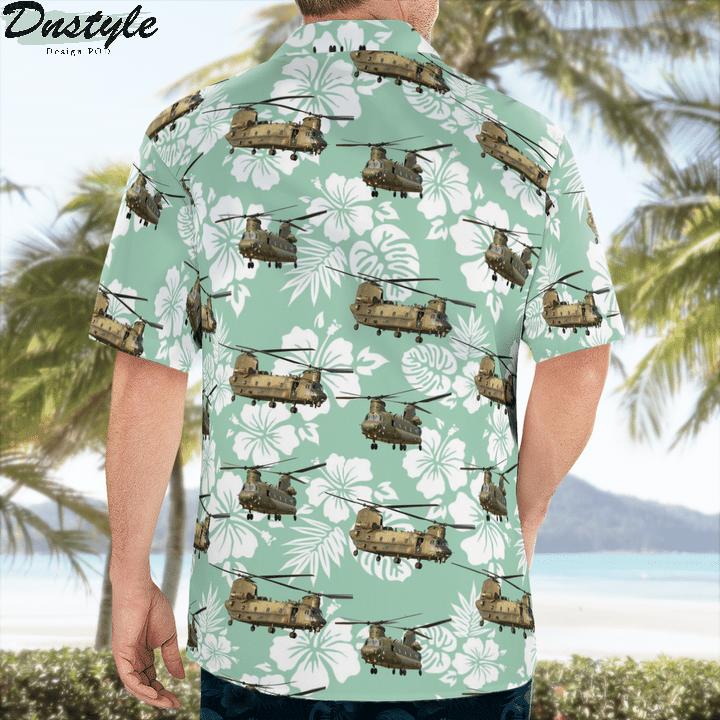 Royal Air Force Boeing Chinook Hawaiian Shirt 3