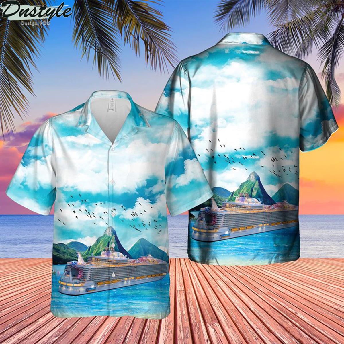 Royal caribbean international symphony of the seas hawaiian shirt 1