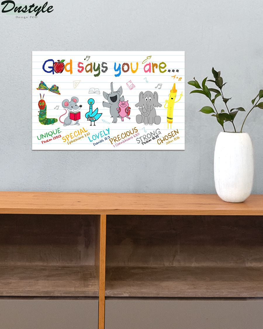 School god says you are poster 1