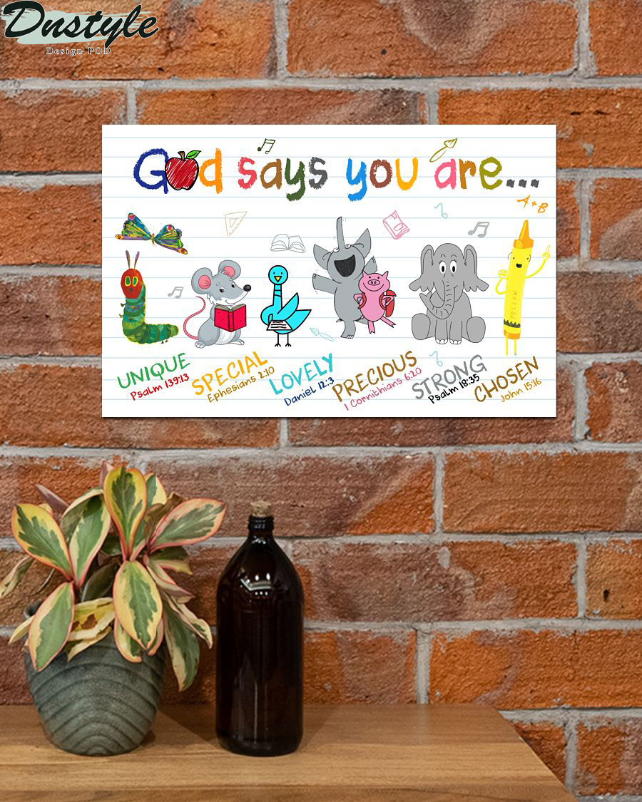 School god says you are poster 2