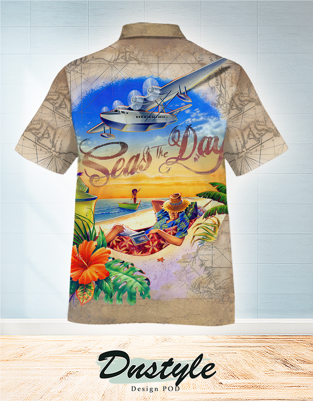 Seas the day Hawaiian Shirt 1
