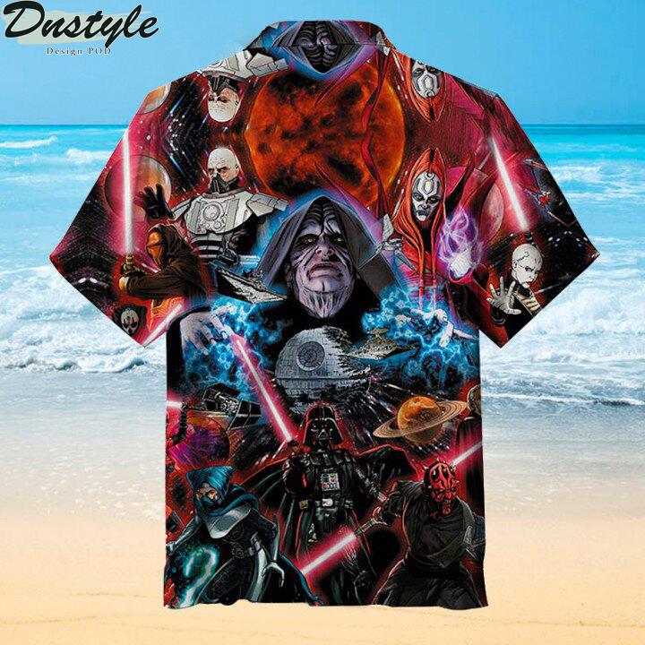 Sith Lords Hawaiian shirt 1