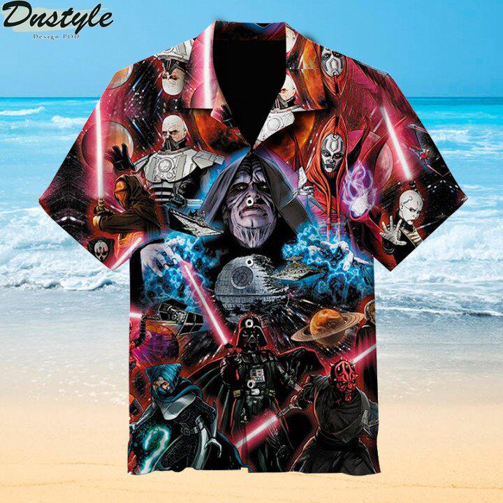 Sith Lords Hawaiian shirt