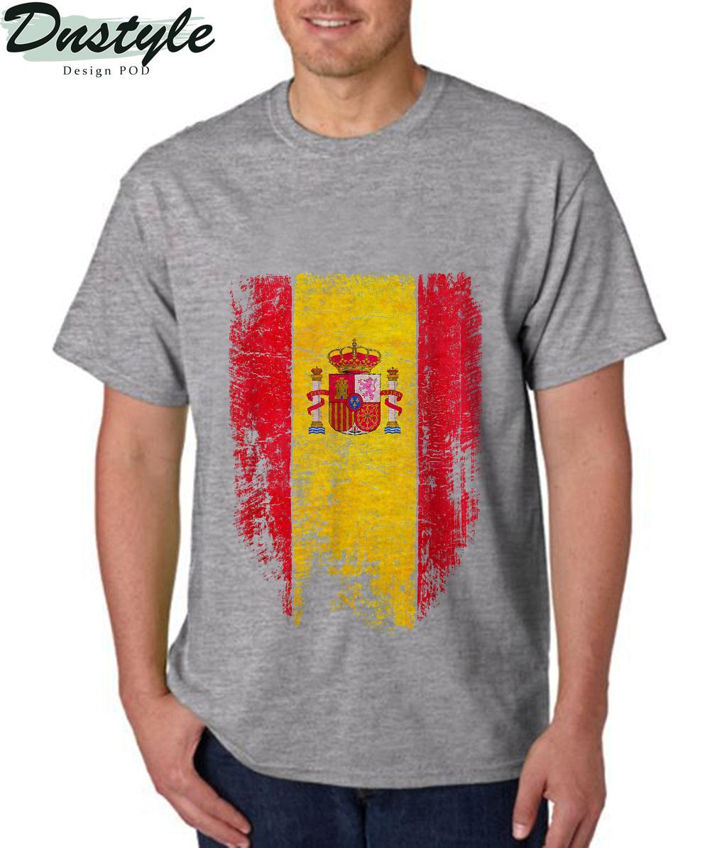 Spain Vintage Spanish Flag Souvenir Gift T-Shirt 1