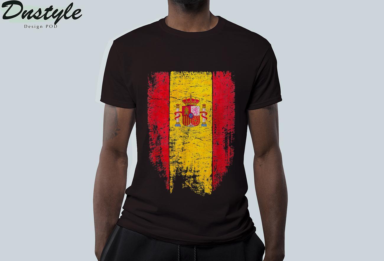 Spain Vintage Spanish Flag Souvenir Gift T-Shirt 2