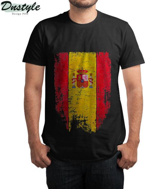 Spain Vintage Spanish Flag Souvenir Gift T-Shirt