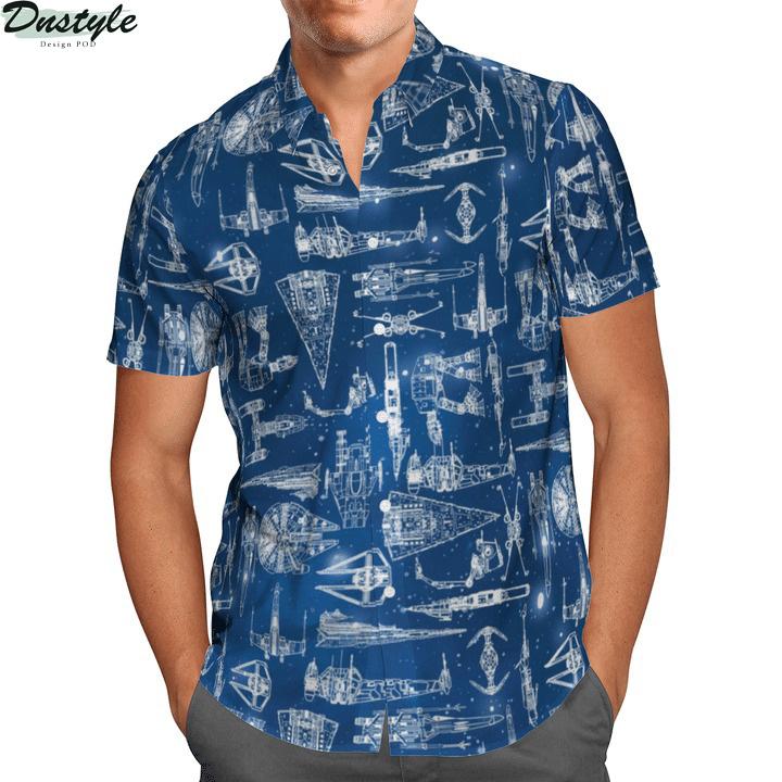 Star Wars Spaceships Hawaiian Shirt 1