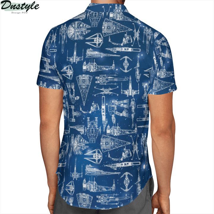 Star Wars Spaceships Hawaiian Shirt 2