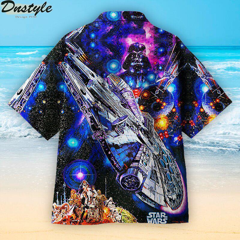 Star wars hawaiian shirt 1