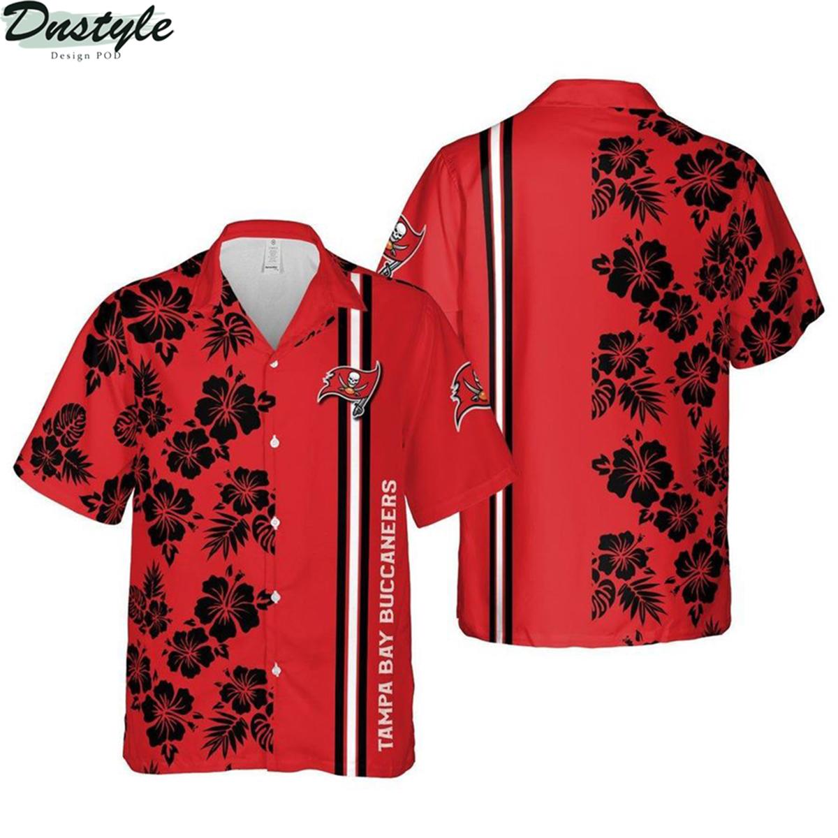 Tampa bay buccaneers florida nfl football hawaiian shirt 2