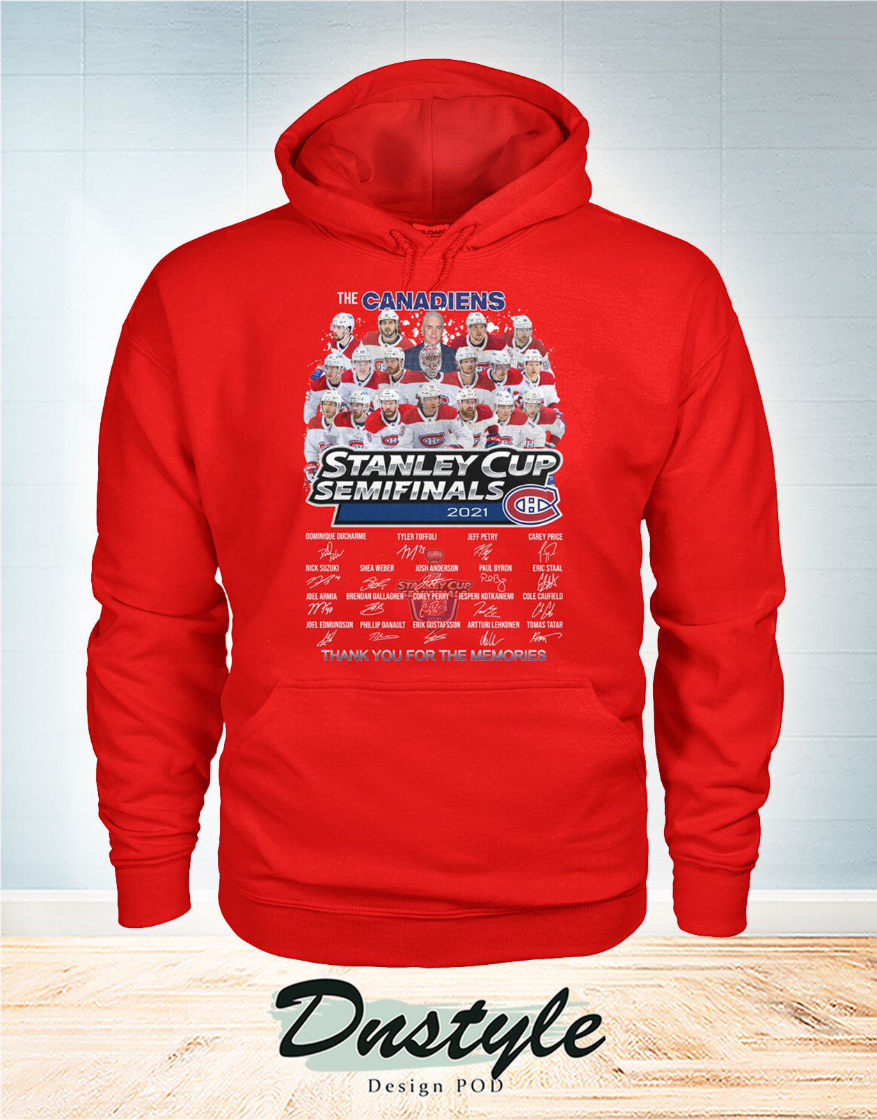 The canadiens stanley cup semifinals 2021 signature hoodie