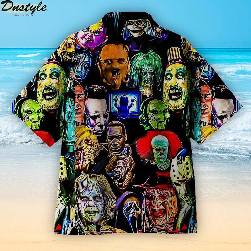 The villain in a horror movie Hawaiian shirt 1