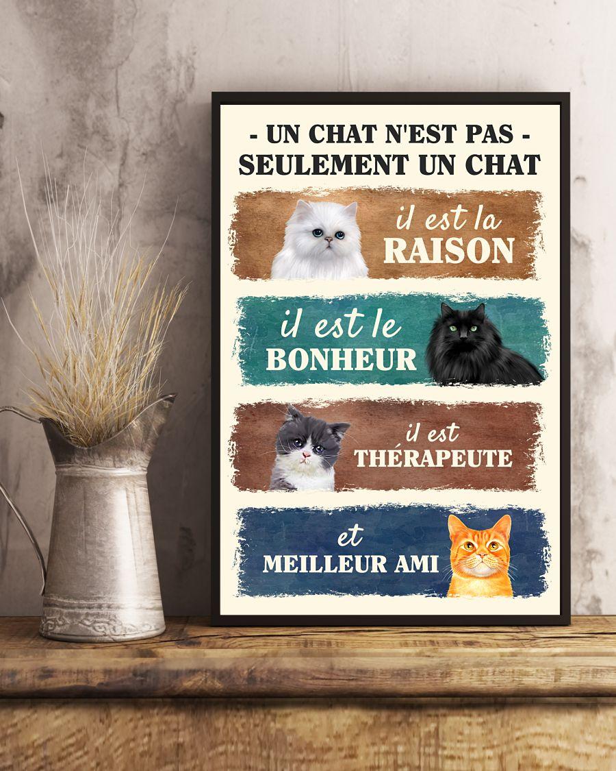 Un chat n'est pas seulement un chat poster 1
