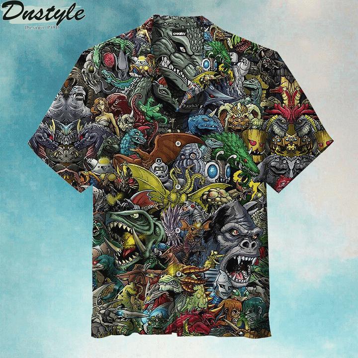 Welcome To The World Of Godzilla Hawaiian Shirt