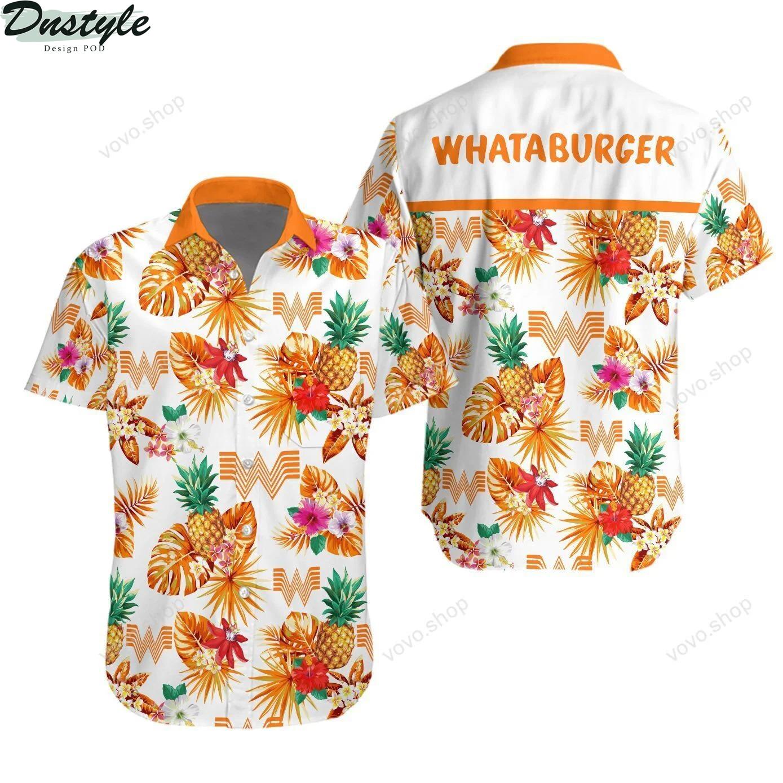 Whataburger Hawaiian Shirt Beach Short 1