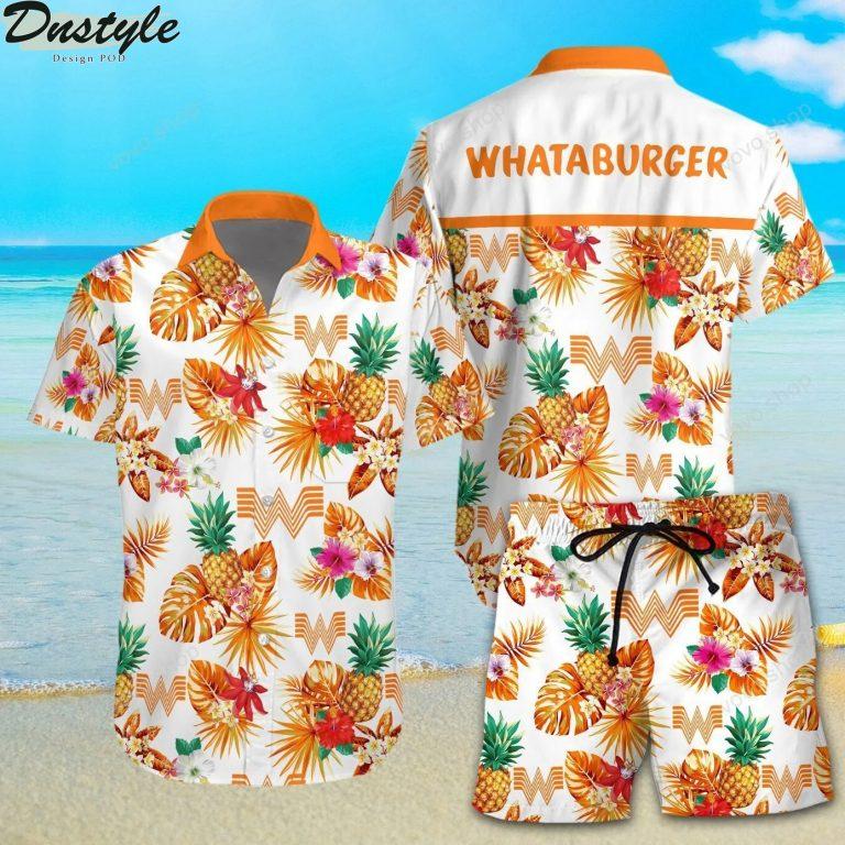 Whataburger Hawaiian Shirt Beach Short