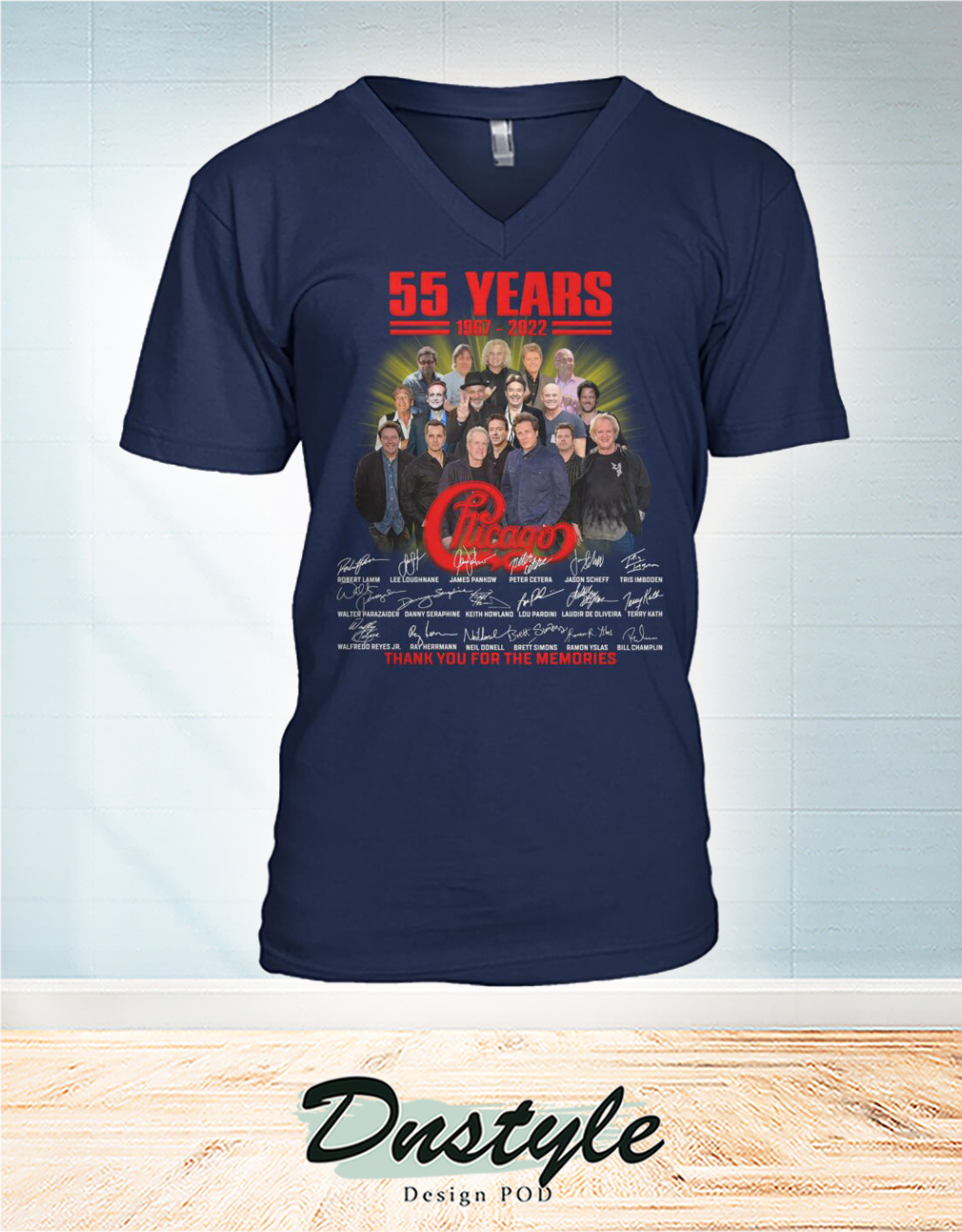 55 years 1987 2022 chicago signature thank you for the memories tank