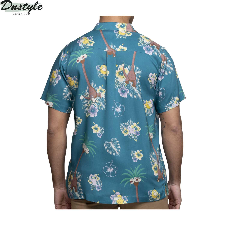 Alolan Exeggutor pokemon hawaiian shirt 1