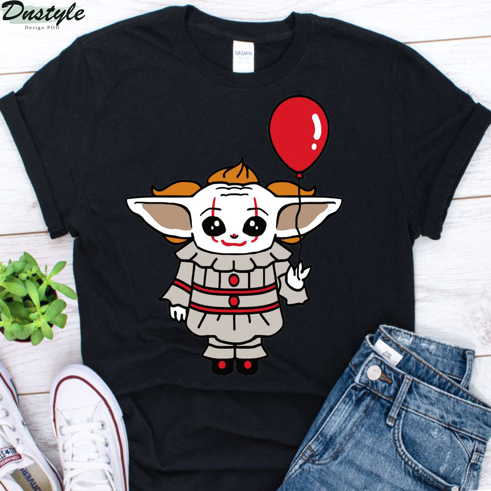Baby Yoda Cosplay Pennywise shirt 1