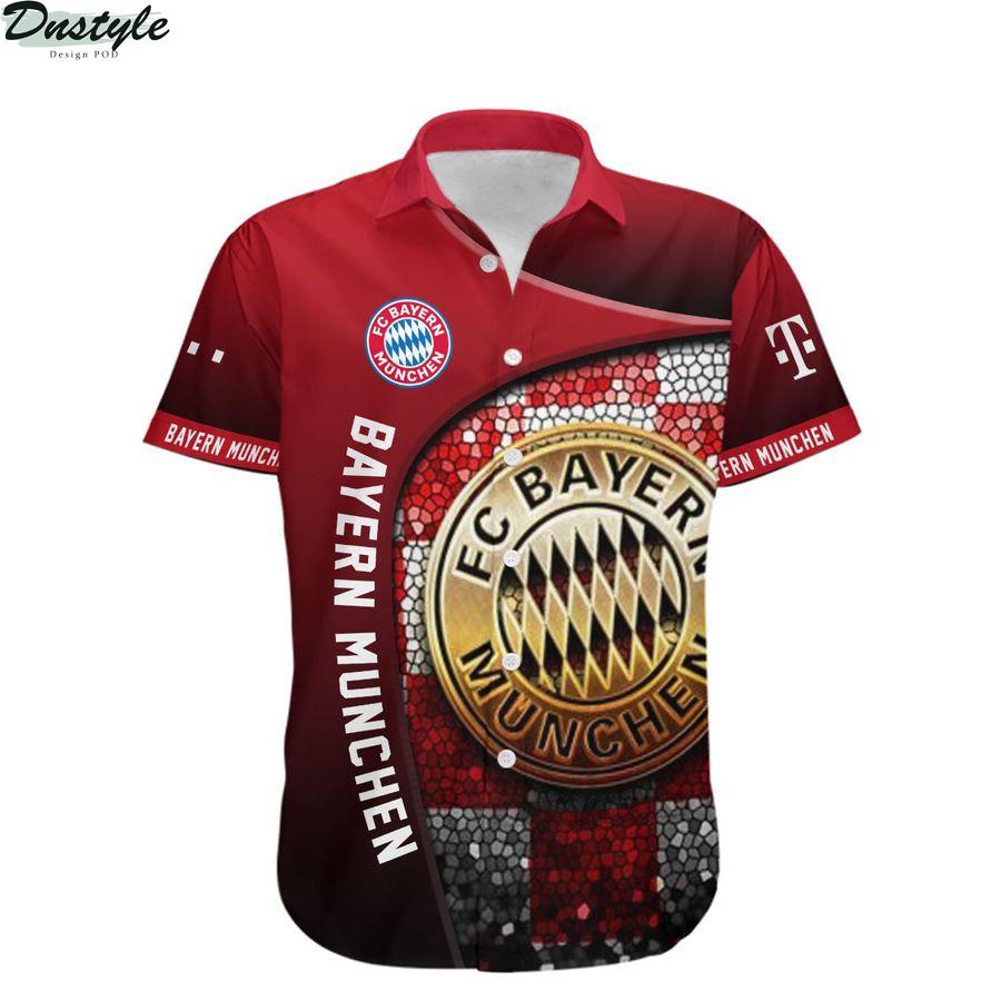 Bayern munchen the bavarians hawaiian shirt 1