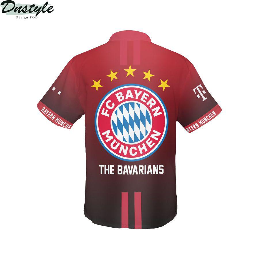 Bayern munchen the bavarians hawaiian shirt 2
