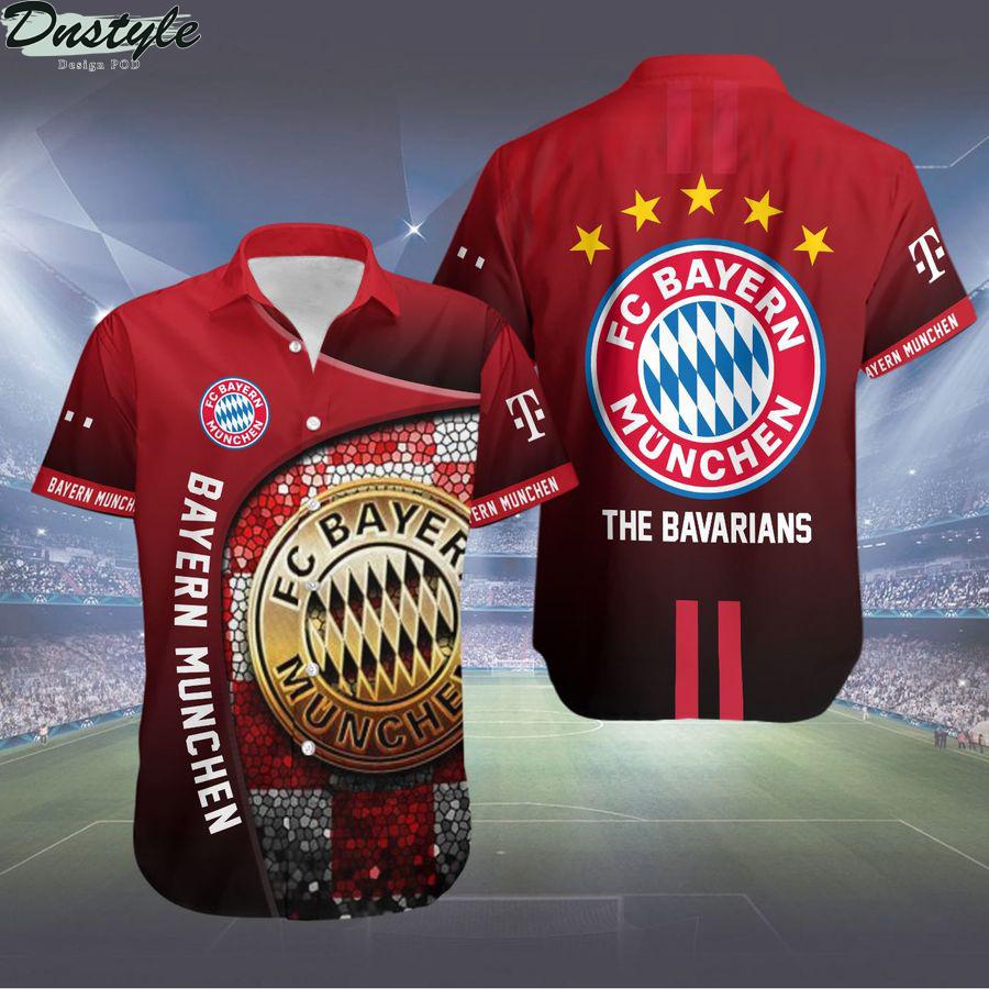 Bayern munchen the bavarians hawaiian shirt