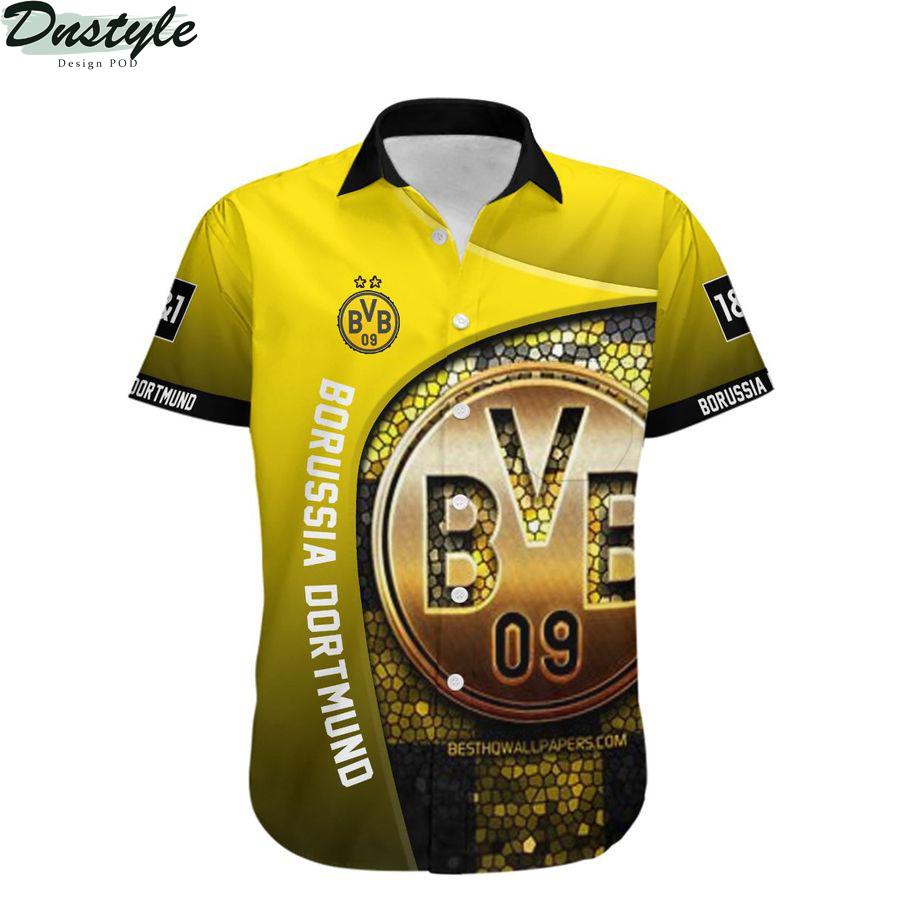 Borussia dortmund die borussen hawaiian shirt 1