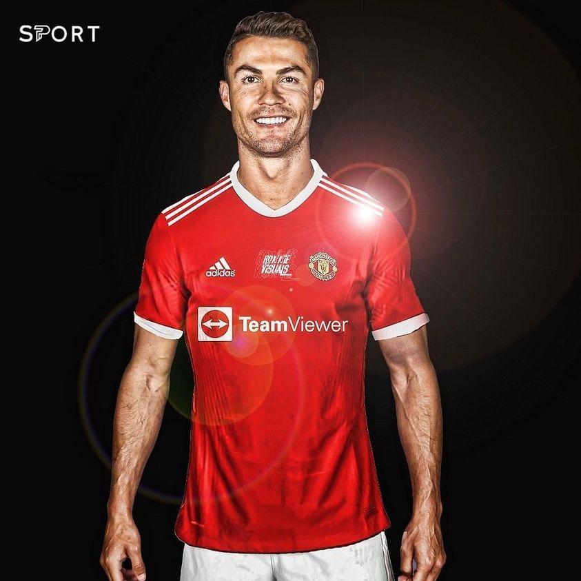 CR7 Ronaldo Man utd home kit 20-21 2