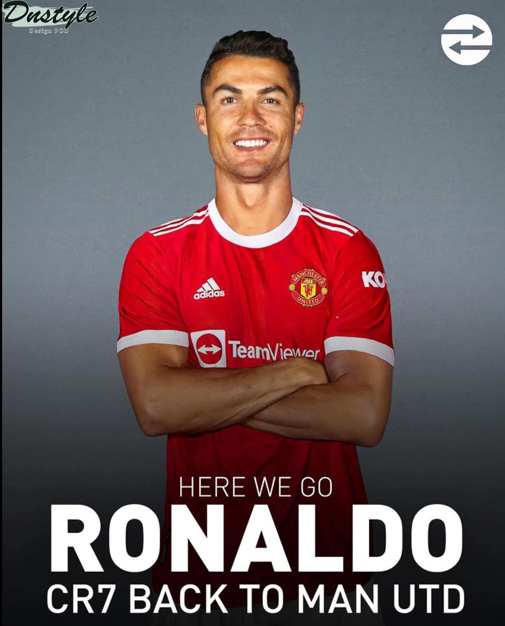 CR7 Ronaldo Man utd home kit 20-21