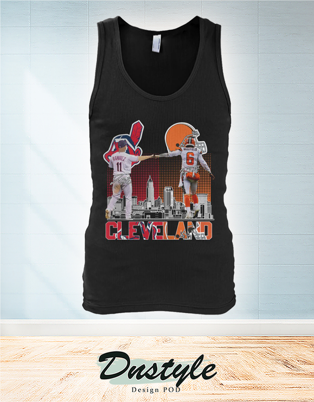 Cleveland Indians and Browns Ramirez and Mayfield tank